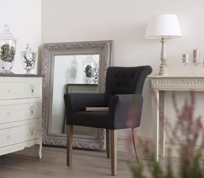 Blanc d 39 ivoire for Chaise blanc d ivoire
