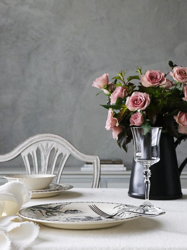 GienディナープレートTulipes ジアンチューリップ Gien Tulipes Dinner Plate