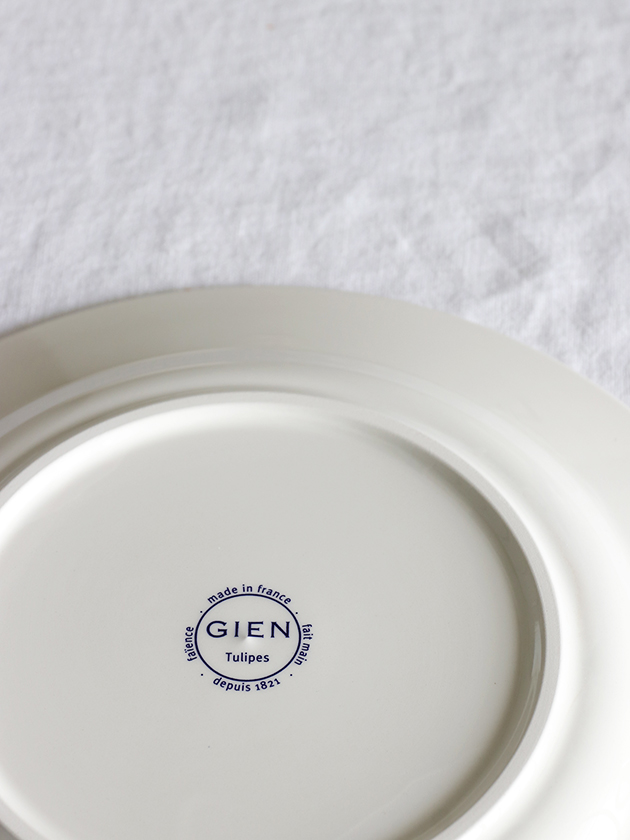 GienデザートプレートTulipes ジアンチューリップ Gien Tulipes Dessert Plate