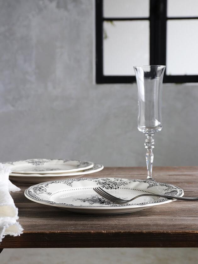 GienディナープレートFleurs Depareillees ジアンフルール Gien Fleurs Depareillees Dinner Plate