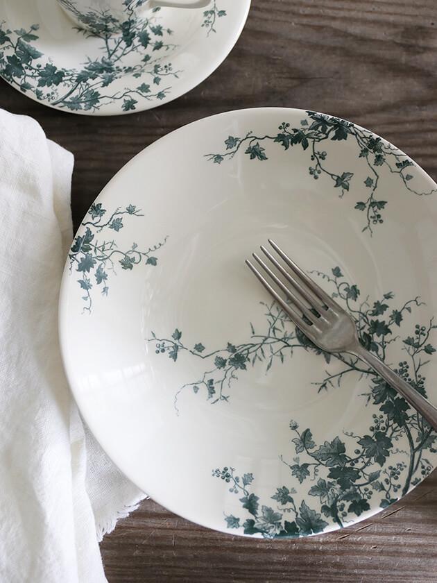 Gienスープ・パスタプレートLes Oiseaux ジアンオアゾ Gien Les Oiseaux Soup Pasta Plate