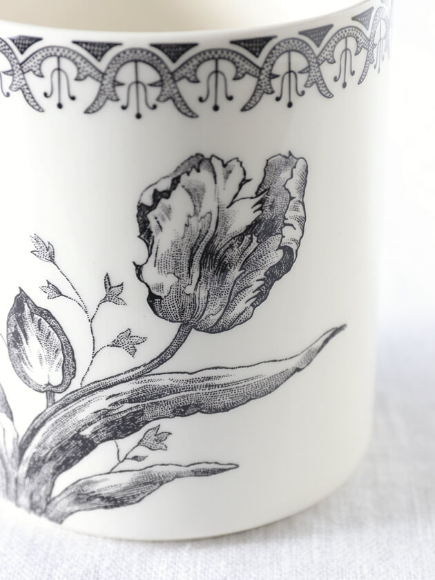 GienマグカップTulipes ジアンチューリップ Gien Tulipes Mug Cup