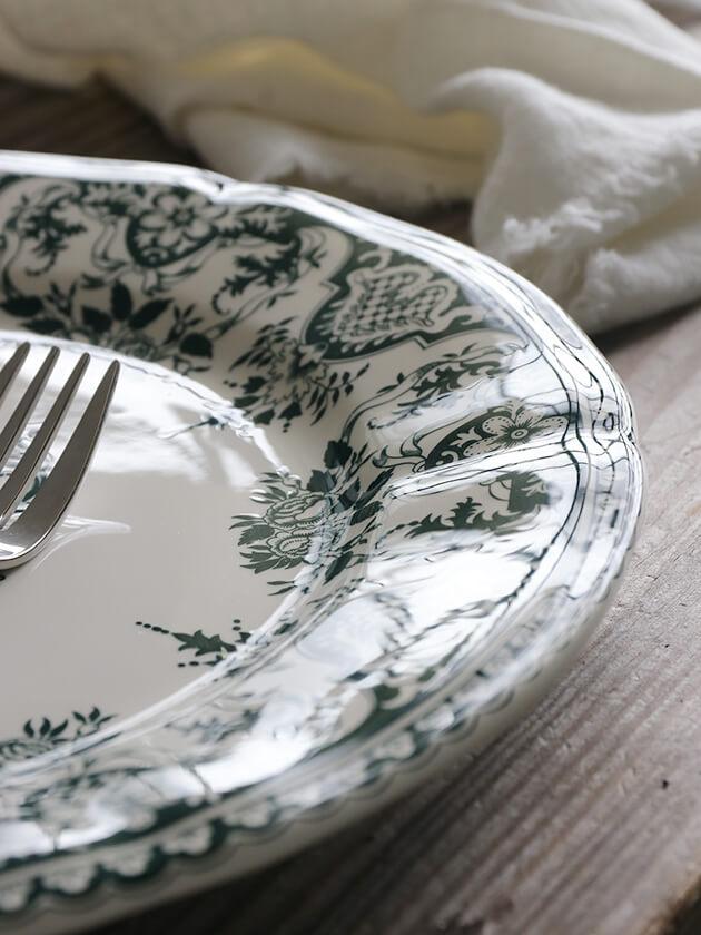 GienディナープレートMonogramme Depareillees ジアンモノグラム Gien Monogramme Depareillees Dinner Plate
