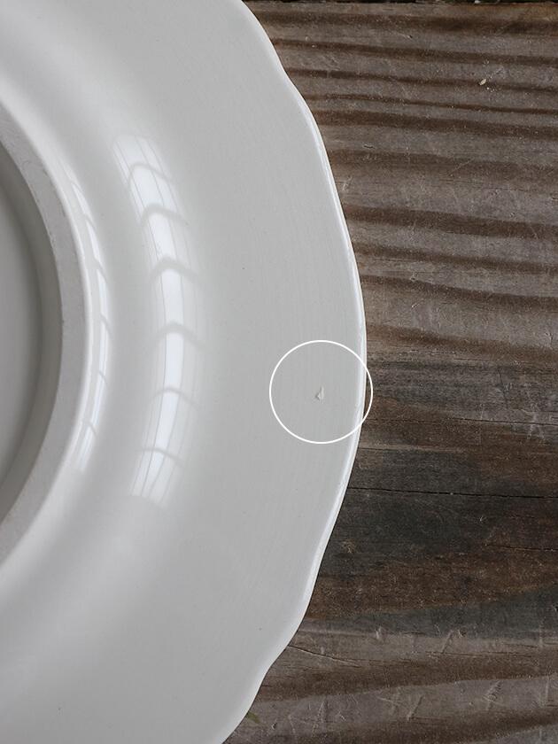 GienデザートプレートMonogramme Depareillees ジアンモノグラム Gien Monogramme Depareillees Dessert Plate