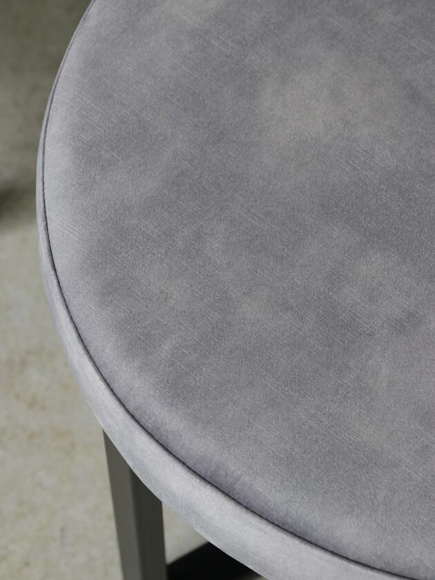 sofa domeアイアンプフトップドルフィングレーベルベット ソファドーム