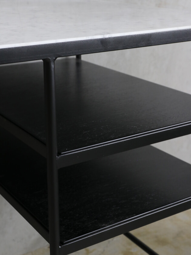 sofa domeアイアンライティングデスクトップホワイトマーブル ソファドーム
